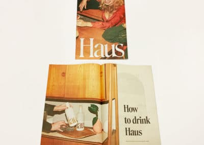 Haus Newsprint Booklet