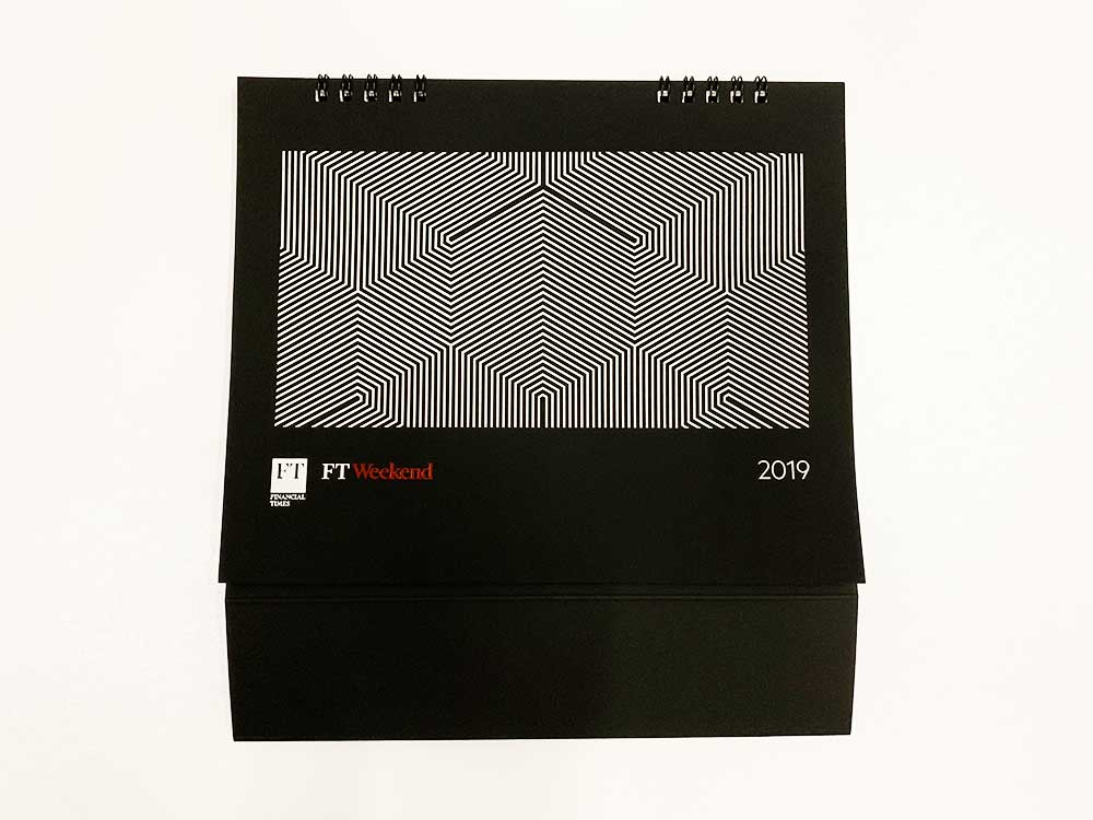 A Custom Calendar Printing Project for Financial Times