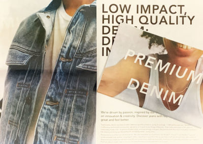 A lookbook printing nyc project done on newsprint